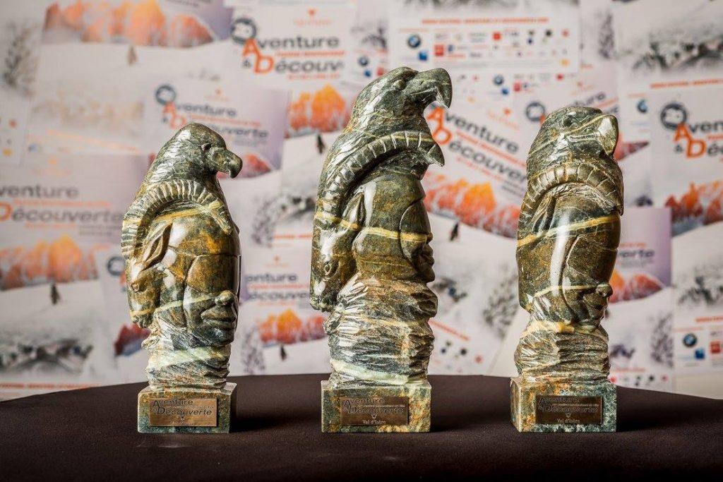 trophées pour la 20 édition du festival du film aventure et découverte de Val d