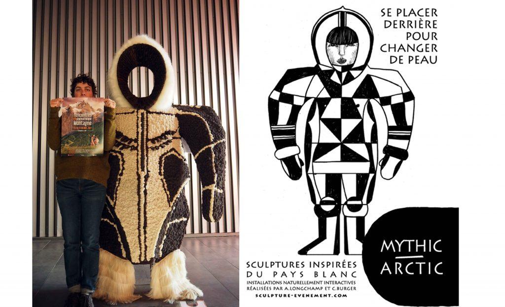 Exposition Mythic Artic à Gap lors Rencontres cinémathèque de Montagne.