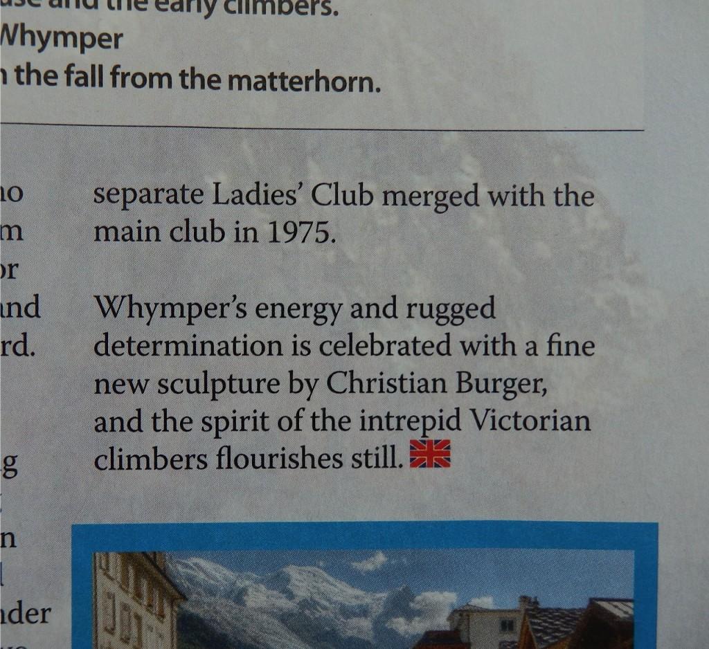 Dans le revue